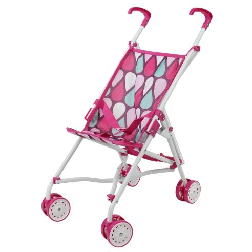 Wózek dla lalek spacerowy parasolka Beticco